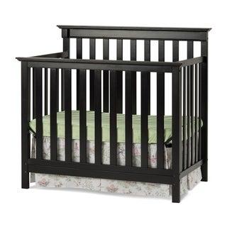 Child Craft Bradford Mini 4-in-1 Convertible Crib and Mattress
