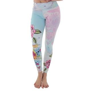 Luna Jai Women's 'Dagger and Roses' Active Athletic Pants