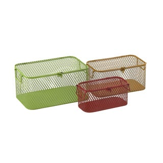Useful Metal Baskets (Set of 3)