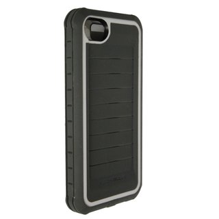 Body Glove Shocksuit Series Grey/ White Phone Case for Apple iPhone 5/ 5S