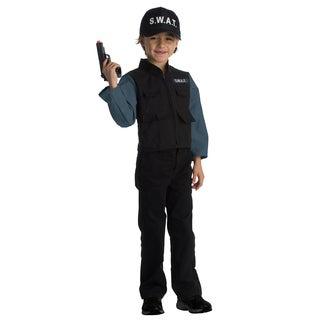 Dress Up America Boys' SWAT Team Role Play Set Costume