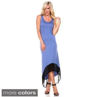 Stanzino Women's Asymmetric Hem Tank Dress
