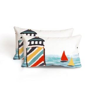 Watchtower Indoor/Outdoor 12 x 20 inch Throw Pillow (set of 2)