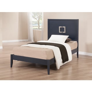 Navy Empire Twin Bed