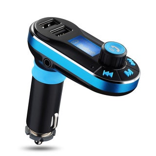 Patuoxun Bluetooth FM Transmitter Hands-free Car Kit for Mobile Devices