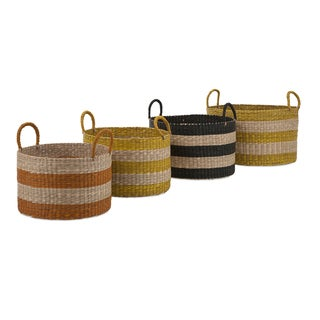 Cali Seagrass Baskets (Set of 4)