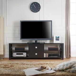 Furniture of America Noriko Cappuccino 71-inch Modern TV Stand