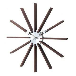 Telechron Square Spindle Clock