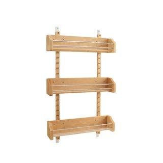 Rev-A-Shelf 4ASR-21 Large Adjustable Door Mount Spice Rack
