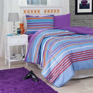 Windsor Home Camden Striped 22-Piece Reversilble Bed-in-a-Bag Set