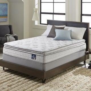 Serta Extravagant Pillowtop Split Queen-size Mattress Set