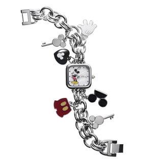 Disney Mickey Mouse Charm Bracelet Watch