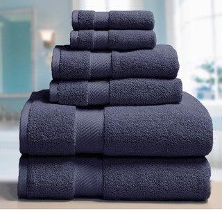Elle 100% Combed Cotton 6-piece Towel Set