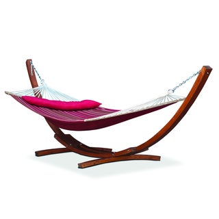 Somette Montrose Large Striped Hammock with Pillow