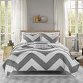 Mi Zone Gemini Reversible 4-piece Coverlet Set