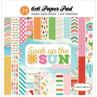 Carta Bella Paper Pad 6inX6in 24/PkgSoak Up The Sun