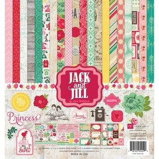 Echo Park Collection Kit 12inX12inJack & Jill Girl