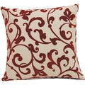 Jared Scarlet 17in Single Throw Pillow
