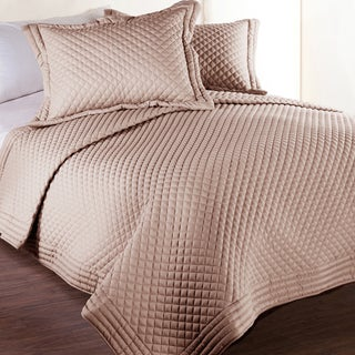 Lotus Home Microfber Water & Stain Resistant Diamond Quilt