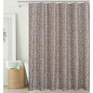 Hamilton Park Floral Shower Curtain (hooks included)