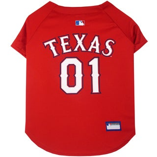 Authentic Quality Texas Rangers Dog Jersey