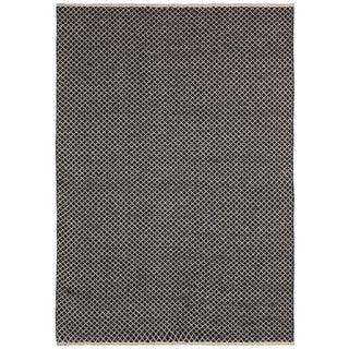 Brown Jute Squares (8'x10') Flat Weave Rug