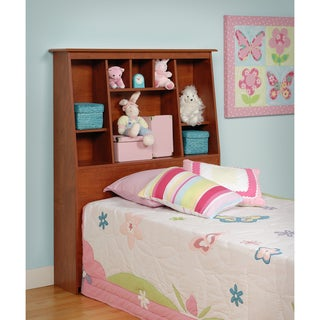 Chelsea Cherry Twin Tall Slant-Back Bookcase Headboard