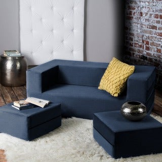 Zipline Modular Sleeper Loveseat with Ottomans