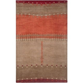 Rizzy Home Mojave Collection Hand-tufted Wool Beige Area Rug (8' x 10')
