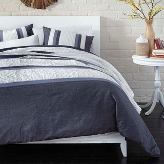 Snuggle Stripe 3-piece Comforter Set