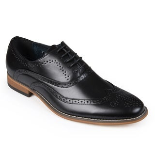 Vance Co. Men's Faux Leather Oxford Dress Shoes