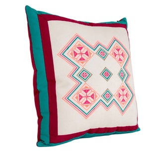DOLCEZZA with Frame HAND-EMBROIDERED PILLOW