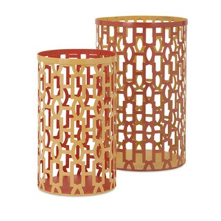 Essentials Energetic Metal Lantern (Set of 2)