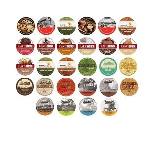 Flavored Sampler Variety Pack Single Serve Coffee K-Cups (56-count)