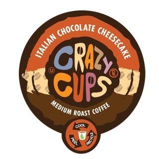 Crazy Cups 'Italian Chocolate Cheesecake' Single Serve Coffee K-Cups