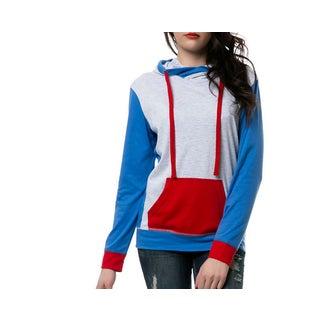 Zutoq Women's Tri-Color Pullover Hoodie
