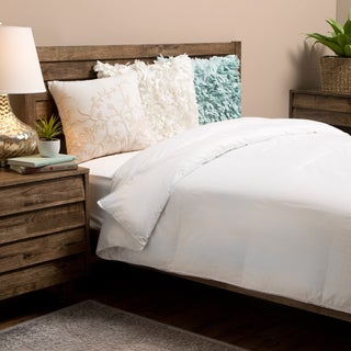 Grandeur Collection 330 Thread Count Supreme White Goose Down Comforter