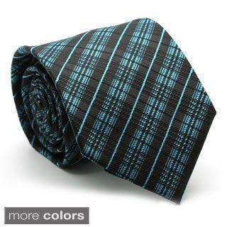Ferrecci Mens Premium English Striped Neckties