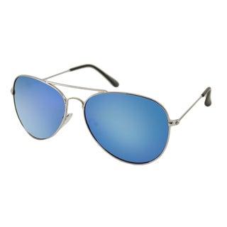 Urban Eyes Men's/ Unisex UE6625RV Aviator Flash Sunglasses
