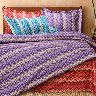Luxor Treasures Wrinkle Resistant Zig-Zag 3-piece Duvet Cover Set