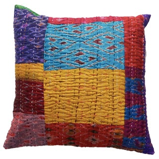 "24"" Silk Kantha VIntage Cushion Covers"