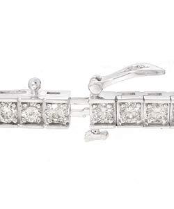 14k Gold 5ct Diamond Tennis Bracelet (I-J, SI2 )