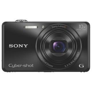 Sony Cyber-shot DSC-WX220 18.2 Megapixel Compact Camera - Black