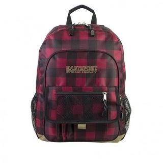 Eastsport Plaid Basic Tech Backpack