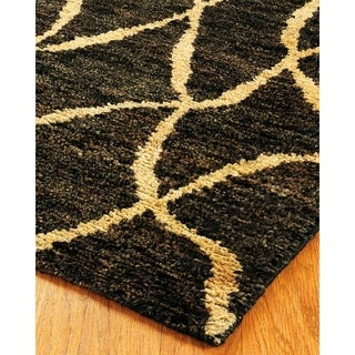 Natural Area Rugs Hand-knotted Millenium Jute Rug (9' x 12')