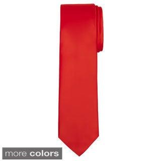 Jacob Alexander Solid Color Men's XL Tie