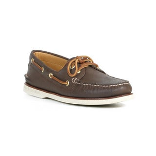 Sperry Men's Brown Gold Cup A/O 2 Eye Boat Shoes