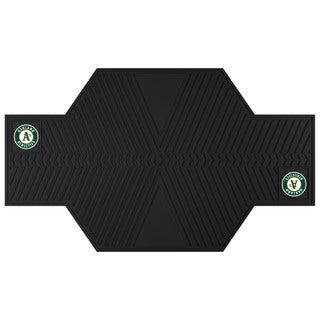 Fanmats Oakland Athletics Black Rubber Motorcycle Mat