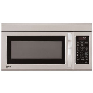 LG 1.8-cubic-foot Over-the-Range Microwave Oven Stainless Steel