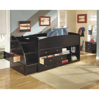 Signauture Design by Ashley Embrace Merlot Twin-size Loft Bed Set
